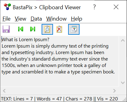 BastaPix Clipboard Viewer