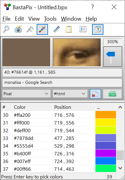 BastaPix Color Picker