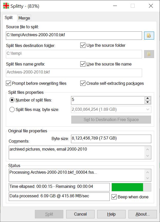 SplittyLite 5.20 full